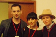 with Roisin Murphy 2008